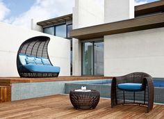stilvolle moderne Garten-Ideen