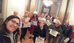 """Vecinos de """"Tercera Edad"""" del polideportivo Delfo Cabrera visitaron el Museo de Arte Tigre"""