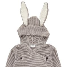 Oeuf NYC Rabbit Knitted Sleeping Bag-product