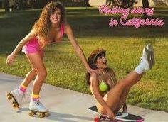 Znalezione obrazy dla zapytania roller skates 80s