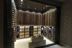 Idées de cave à vins - bouteilles, barriques et casiers | Cave ...