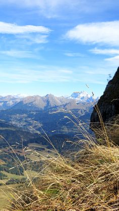 View from the Pic de Marcelly, Taninges, Haute-Savoie, Rhône-Alpes, France   Photo by Ayuna Skol Ofenstrü (October 2013)