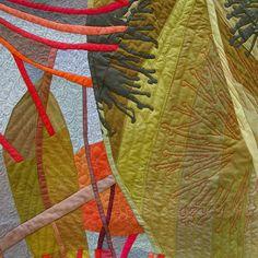 In My Portfolio: Shadows and Silhouettes - Ruth de Vos: Textile Art
