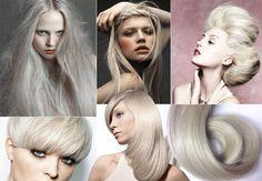 #rubio #ceniza #blanco #claro #platino #gris #grisaceo #ideas #tips #peinados…