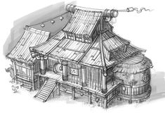 House Concept ✤    CHARACTER DESIGN REFERENCES   キャラクターデザイン • Find more at https://www.facebook.com/CharacterDesignReferences if you're looking for: #lineart #art #character #design #illustration #expressions #best #animation #drawing #archive #library #reference #anatomy #traditional #sketch #development #artist #pose #settei #gestures #how #to #tutorial #comics #conceptart #modelsheet #cartoon    ✤