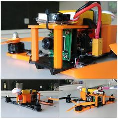 The Prusa FPV Quadcopter by Christophe Rouckhout #practical