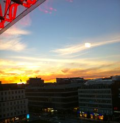 Stockholm Sunset, September 2013 by CC Champagne