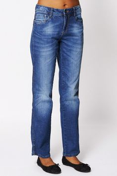 Straight Leg Jeans Ex-branded