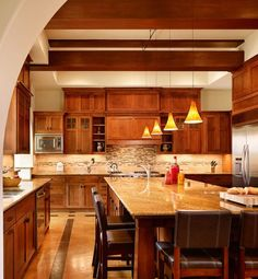 Craftsman Styled Kitchen Austin Texas Styling Custom Home Builders Homes