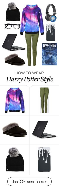 """I have written you down, and you will live forever."" by polyvore-user-name on Polyvore featuring UGG and Speck"