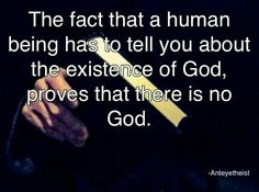 In the beginning, man created god. In his image did he create him.                                                                                                                                                                                 More