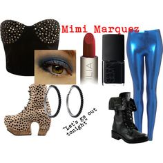 """Mimi Marquez (Rent)"" by suzeshi on Polyvore"