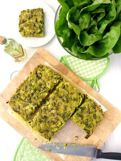 Tarte moelleuse aux poireaux et aux flocons d'avoine (vegan)