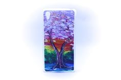Carcaza Pintura Arbol Relieve Sony Xperia Z1 / Sony Xperia Z2 — HighTeck Store