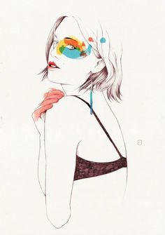 One of the Five Muses that Conrad Roset has created exclusively for joid'art. #joidartbyconradroset #contemporaryjewellery