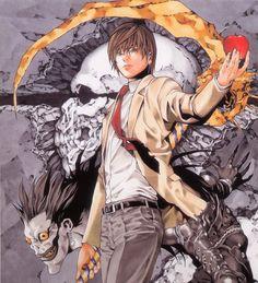 Death Note: in arrivo una serie TV live-action - Comic Death Note Light, L Death Note, Shinigami, Platinum End, Death Note Fanart, Light Yagami, Japon Illustration, Manga Artist, Manga Covers