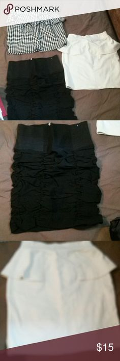 Set of 3 skirts. Worn once all 3 of them bought at Ross store Skirts Mini