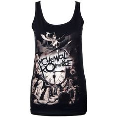 My Chemical Romance Parade Clock Vest (Black) ($1.26) ❤ liked on Polyvore featuring outerwear, vests and vest waistcoat