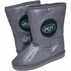 New York Jets Women's Practice Hooded Jacket - Green