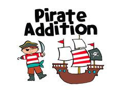 The Littlest Scholars: My Gift to You...Freebie!  Pirate Addition