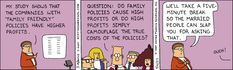 Dilbert Classics by Scott Adams for Tue 23 Mar 2021 #Dilbert #Comics Dilbert Comics, Scott Adams, Broken Families, Comic Strips, Friends Family, Cartoons, March, This Or That Questions, Classic