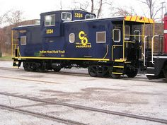 From the B&O Railroad Museum...: Restoration: C&O Caboose No. 3324