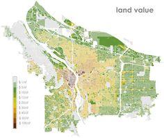 Portland Land Value Map