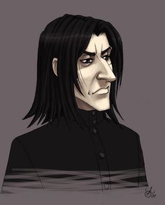 Snape is Cheerful by madcarrot on DeviantArt