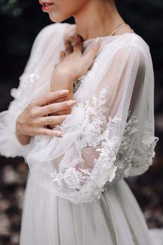 Wedding dress LINDA with long train Exclusive wedding dress Haute couture wedding dress Gorgeous Wedding Dress, Dream Wedding Dresses, Beautiful Gowns, Fashion Wedding Dress, French Wedding Dress, Different Wedding Dresses, Couture Wedding Gowns, Bridal Gowns, Dream Wedding