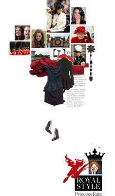 """Princess Kate with a splash of Vivienne Westwood"" by sharmarie ❤ liked on Polyvore"