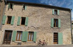 Lagrasse Holiday Villa Rental, with walking, log fire, balcony NOT available Log Fires, Villas, Balcony, Terrace, Walking, France, Holiday, Fireplace Set, Wood Burning Fireplaces