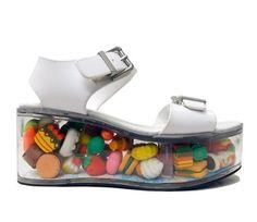 Clear shoes Y.R.U
