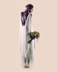Atractivo #bouquet de #novia, una fascinante composición de colores, texturas y aromas. #Proteas africanas, llamativas #rosas de jardín, #claveles verdes, flor de cera y #astrantia, forman parte de la gran selección de flores naturales y verdes frescos que lo componen.