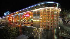 11th street diner - Triple D recommended, Apple Raisin Pork Chops, Argentinian Steak