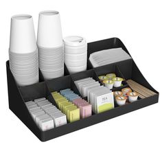 Enjoy easy storage and organization with the Onyx break room ...