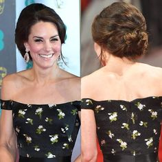"""The Duchess of Cambridge's volumised updo """"Of course Duchess Kate would choose something suitably regal for the occasion!"""" he says. """"I loved this beautiful style, which felt very majestic but still managed to look modern. A great blow-dry and lots of rollers is what you need here; Kate is well-known for her voluminous curls and this look is no different."""" 1. Set the hair with rollers and blast dry before unwinding, and then backbrushing the top section and the crown to add extra oomph. 2…"""
