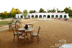 Stables at Haras Hacienda Lusitano Horses Texas.