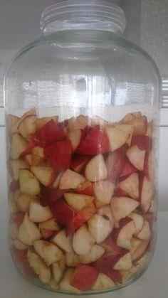 Elma Sirkesi Nasıl Yapılır | Çiftlik Hayatı Homemade Beauty Products, Kombucha, Winter Food, Kefir, Vinegar, Watermelon, Health Fitness, Healthy Recipes, Fruit
