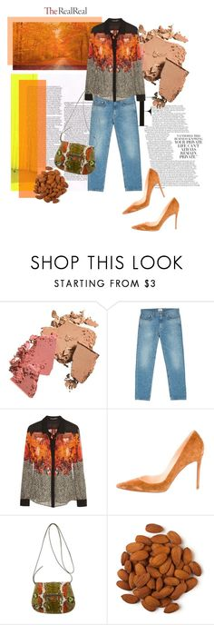 """Fall Style With The RealReal: Contest Entry"" by theitalianglam ❤ liked on Polyvore featuring Acne Studios, Roberto Cavalli, Christian Louboutin and Balenciaga"