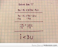 Solving Math With Love