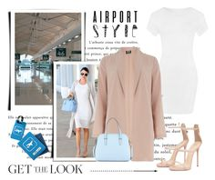 """""""Miranda Kerr..... Airport Style"""" by conch-lady ❤ liked on Polyvore featuring Kerr®, WearAll, Dorothy Perkins, Kate Spade, TravelSmith, GetTheLook and airportstyle"""