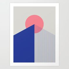 Peak Art Print by PrettyGoodStudio - X-Small Design, Printmaking, Illustration, Graphic Art Prints, Architectural Prints, Art, Geometric, Poster Design, Society6