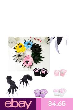 Cosplay Cat Woman Claw Gloves, Catwoman Cosplay, Anime Cosplay Costumes, Amazing Cosplay, Halloween Cat, Plush, Bows, Clothing, Accessories