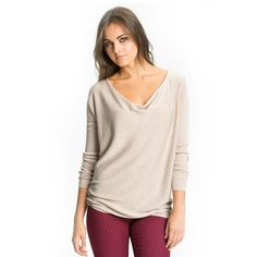 Order light beige v-neck t-shirt for women in bulk from Alanic Global at wholesale rate. Know more http://www.alanicglobal.com/wholesale/light-beige-v-neck-t-shirt-for-women/