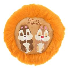 Chip & Dale Cushion CHIP'N'DALE ORGANIC PARTY ...