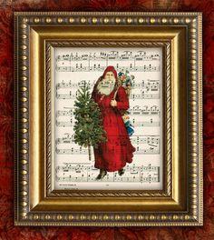 Santa sheet music