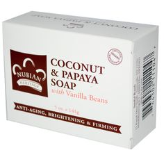 Coconut and Papaya Soap. Super moisturizing bar soap. $3.27 with a low EWG score: http://www.ewg.org/skindeep/product.php?prod_id=450709