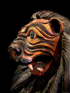 Mexican Lion Mask