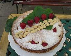 Zobrazit detail - Recept - Mandlovo jahodovy koláč s pomarančom