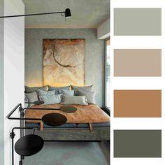 Warm colour palette